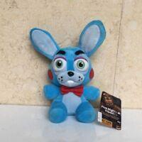"FNAF Sanshee Plushie Five Nights at Freddy's Toy 7"" Plush Blue Rabbit Bonnie"