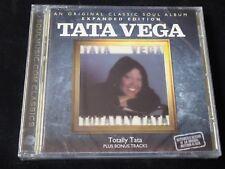 Tata Vega - Totally Vega (Expanded Edition) SEALED NEW CD 2011 JERMAINE JACKSON