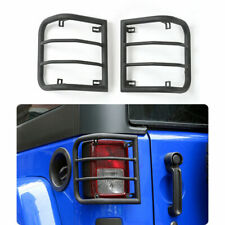 1 pair Metal Light Guard Rear Tail Light Cover for Jeep Wrangler JK 2007-2017