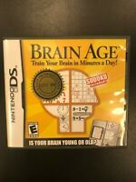Brain Age GDC: 06 DS Gift From Nintendo Complete Not For Resale CIB Saturo Iwata