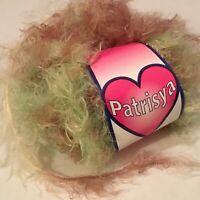 1 PATRISYA EYELASH YARN! 1.76 OZ / 137 YDS 100% POLYAMIDE  SILKY SOFT!