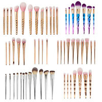 Pro Makeup Cosmetic Eyeshadow Brushes Set Powder Foundation Lip Brush Tool Kit