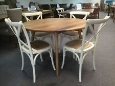 Unbranded Solid Wood Round Tables