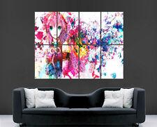 Vocaloid Megurine Luka POSTER GIAPPONESE MANGA Wall Art GRANDE STAMPA GIGANTE dell'immagine