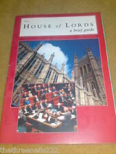 THE HOUSE OF LORDS GUIDE 2007 8 pgs pull-out