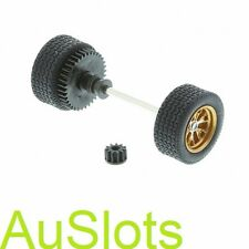 Scalextric W8634 Ford GT40 Rear Axle Assembly C2509 Fits C2424 C3026 C3533 etc