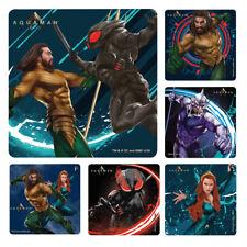 20 Aquaman Stickers Party Favors Teacher Supply Dc Comics #3