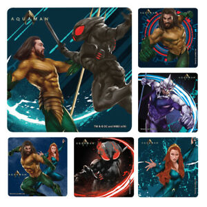 25  Aquaman Stickers Party Favors Teacher Supply DC Comics #3