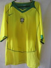 Brazil 2004-2006 Home Football Shirt Size Large /13398