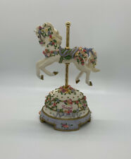"Rare Vintage San Francisco Music Box Company Carousel Horse ""Friends�"