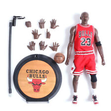 NBA Michael Jordan Action Figure Real Masterpiece 23 Red Jersey 1/6 Kid Gift Toy