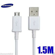 MICRO USB CHARGING SYNC DATA CABLE FOR SAMSUNG GALAXY S3 S4 S6 Edge Note WHITE