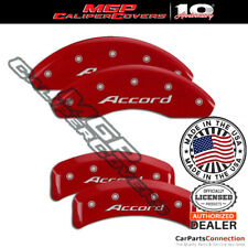 Mgp Caliper Brake Cover Red 20130saccrd Front Rear For Honda Accord 2011 2012