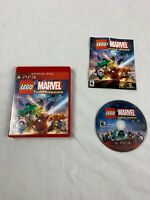 Lego Marvel Super Heros Game PlayStation 3 PS3 Greatest Hits COMPLETE & TESTED