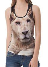 Rock Regular Size Sleeveless T-Shirts for Women