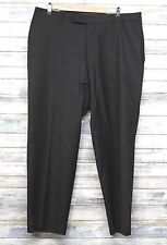 Hugo Boss Dress Pants 36 x 29 Jamestown 100% Wool Men Black  (G-90)
