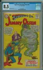 SUPERMAN'S PAL JIMMY OLSEN #42 CGC 8.5 OW PAGES