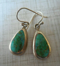 Brown Matrix Dangle Earrings 20A75 New listing