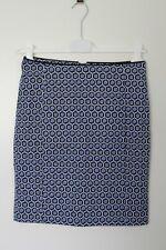 H&M Damen Rock Bleistiftrock skirt gemustert patterned S 36 – neu