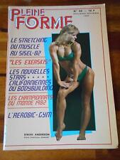 PLEINE FORME #52 female bodybuilding muscle magazine DINAH ANDERSON 12-82 (Fr)