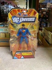 Mattel Action Figure NIP - DC UNIVERSE Classics ALL STARS SUPERMAN W7517