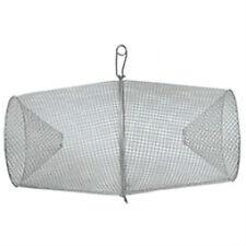 "New Frabill Galvanized Steel Minnow Trap #1279 16.5"" X 9"" Torpedo"