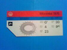 Billet Jeux Olympiques Montréal 30.07.1976 - Athlétisme