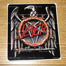 Slayer metal music band full color decal sticker