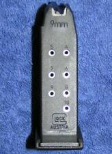 Glock 26 mag. New factory 9mm 10 round. Glock factory magazine