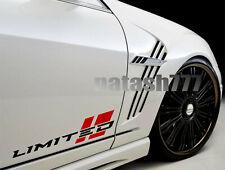 LIMITED Performance Motorsport Car Truck Vinyl Decal Sticker Emblem logo 2p Pair