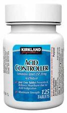 Kirkland Signature AcidController Famotidine 125 Tablets 20 mg