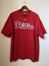 Majestic Chase Utley #26 Philadelphia Phillies T-Shirt size XL