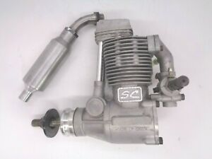 Super Custom FS 70  4 STROKE AERO IC GLOW ENGINE IN GOOD  CONDITION
