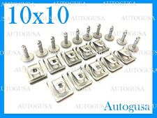 10x10 GENUINE OEM AUDI BMW UNDER ENGINE GEARBOX UNDERTRAY COVER CLIPS FASTENERS