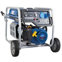 Generatore Di Corrente 4 Kw Avviamento Elettrico Chiave AVR + ATS Hyundai 65016