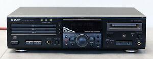 Sharp MD-R3 H MD-R3H - MD / CD Deck / 3-CD Mini Disc Player