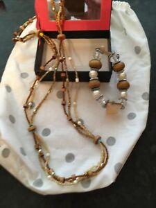Halskette Perlen und Armband