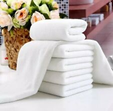 White Bath Towel Thick Cotton Shower Face Towel Home Bathroom Hotel Adult towel