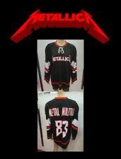 METALLICA Pro Style Hockey Jersey M MEDIUM sz 44 METAL MILITIA