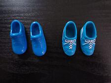 Barbie Ken Doll Shoes Tennis Sneakers Blue Basketball Athletic K Logo Mattel