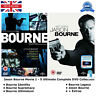 Jason Bourne Movie 1-5 Ultimate +Extras Complete Collection 1 2 3 4 5 NEW R2 DVD