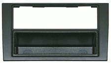 Mascherina con foro ISO-Doppio ISO- Doppio DIN colore nero Audi A4 01>07