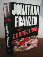 1st Edition THE CORRECTIONS Jonathan Franzen FIRST PRINTING National Book Award