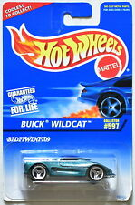 HOT WHEELS 1996 #597 BUICK WILDCAT GREEN