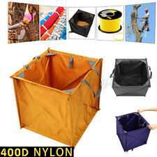 Folding Throw Line Cube Storage Bag 400D Nylon Arborist Lineman