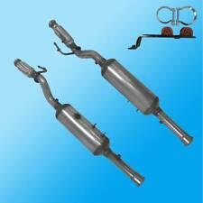 EU5 DPF Dieselpartikelfilter FIAT Scudo 2.0D 94KW 120KW DW10CTED4 ab 2010/01-