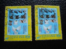 VATICAN - timbre yvert et tellier n° 1017 x2 obl (A28) stamp