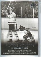 2015-16 SP Authentic Hockey #132 Darryl Sittler ATM Toronto Maple Leafs