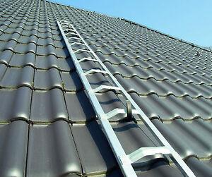 Dachleiter Alu Dachdeckerauflegeleiter 6,75m, frei Haus
