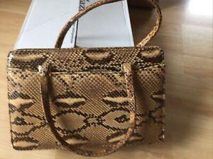 schlangenleder handtasche